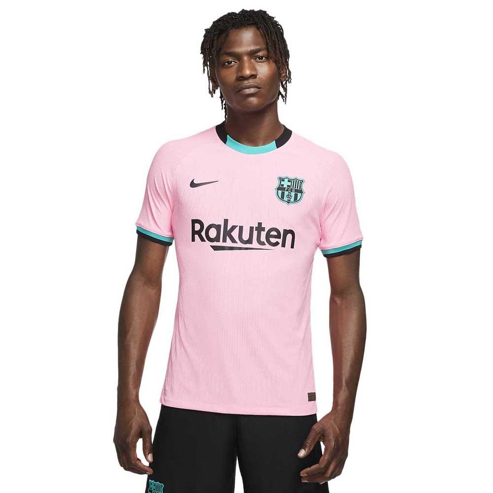Nike T-shirt Fc Barcelona Troisième Vapor Match 20/21 XS Pink Beam / Black