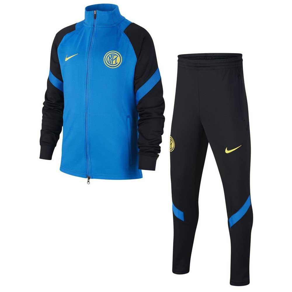 Nike Survêtement Inter Milan Strike 20/21 Junior S Blue Spark / Black / Blue Spark / Tour Yellow