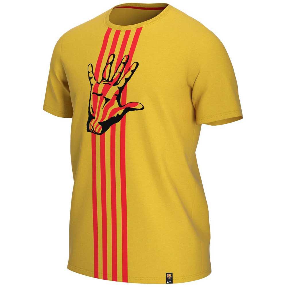 Nike Fc Barcelona 20/21 XXL Varsity Maize