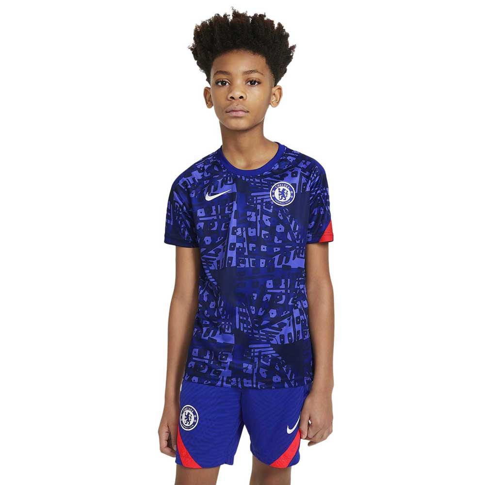 Nike Chelsea Fc Dri Fit 20/21 Junior L Concord / Concord / Ember Glow / White