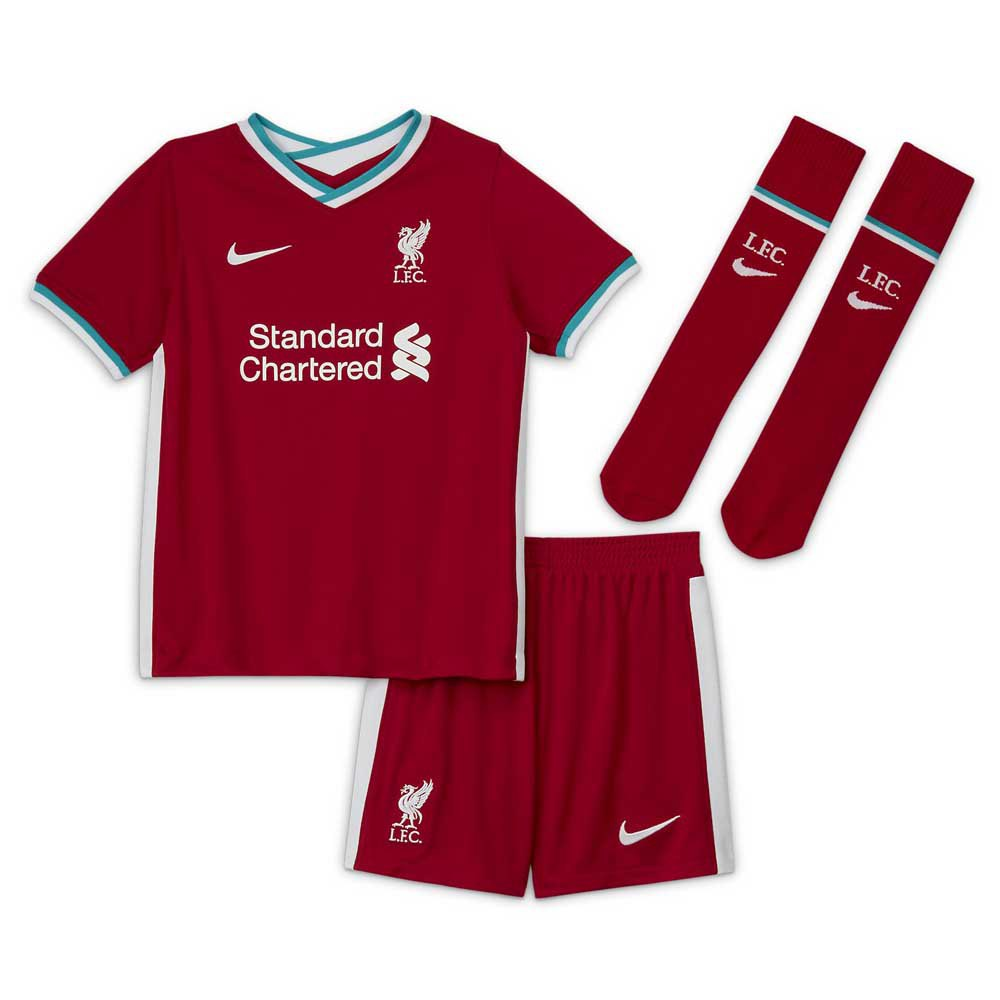 Nike Ensemble Liverpool Fc Domicile Breathe Mini 20/21 L Gym Red / White