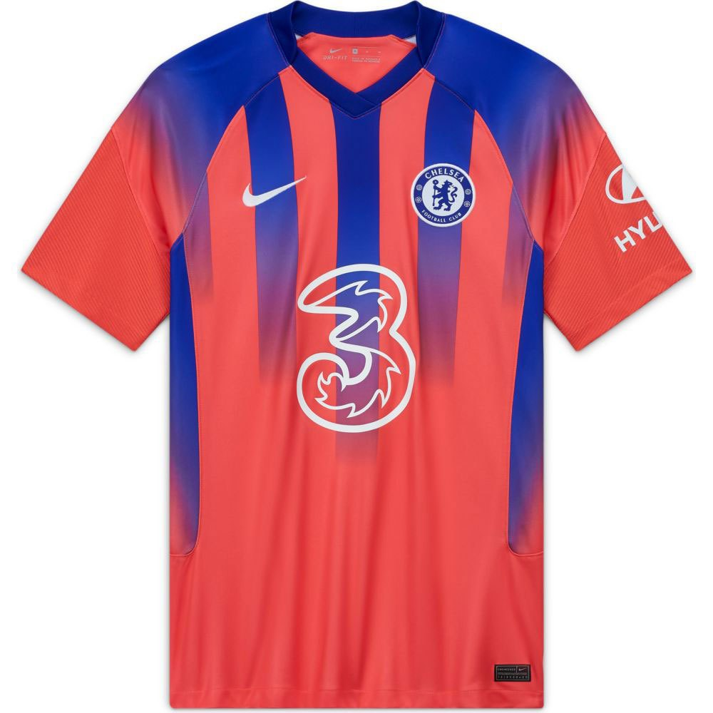 Nike Chelsea Fc Third Breathe Stadium 20/21 L Ember Glow / Concord / White