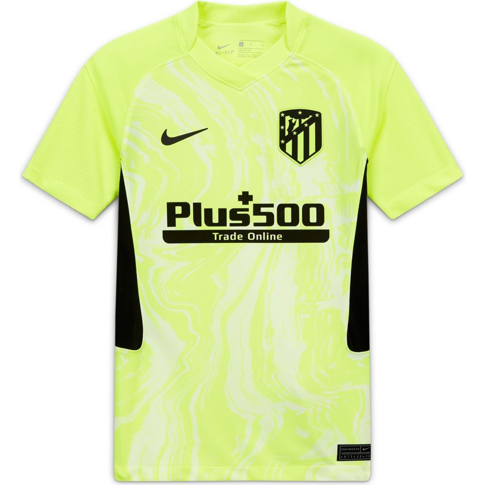 Nike T-shirt Atletico Madrid Troisième Stadium 20/21 Junior XL Volt / Black