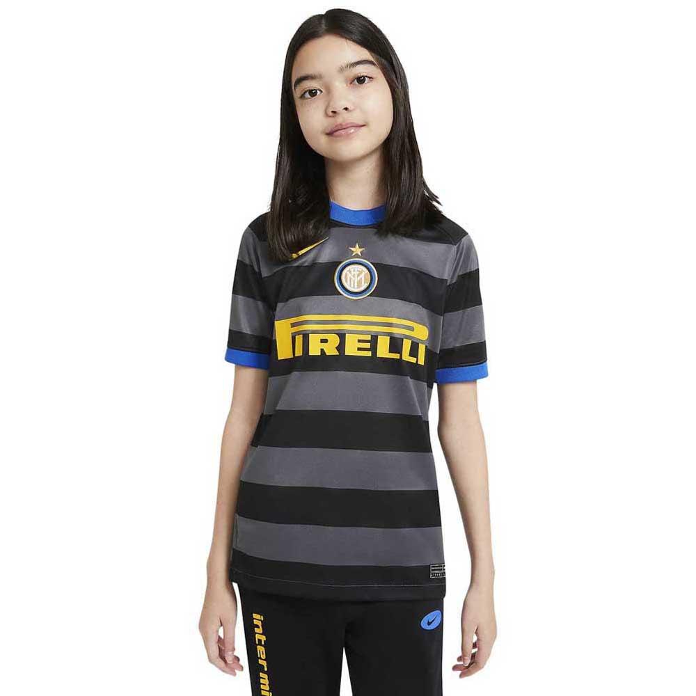 Nike T-shirt Inter Milan Troisième Breathe Stadium 20/21 Junior XL Dark Grey / Tour Yellow
