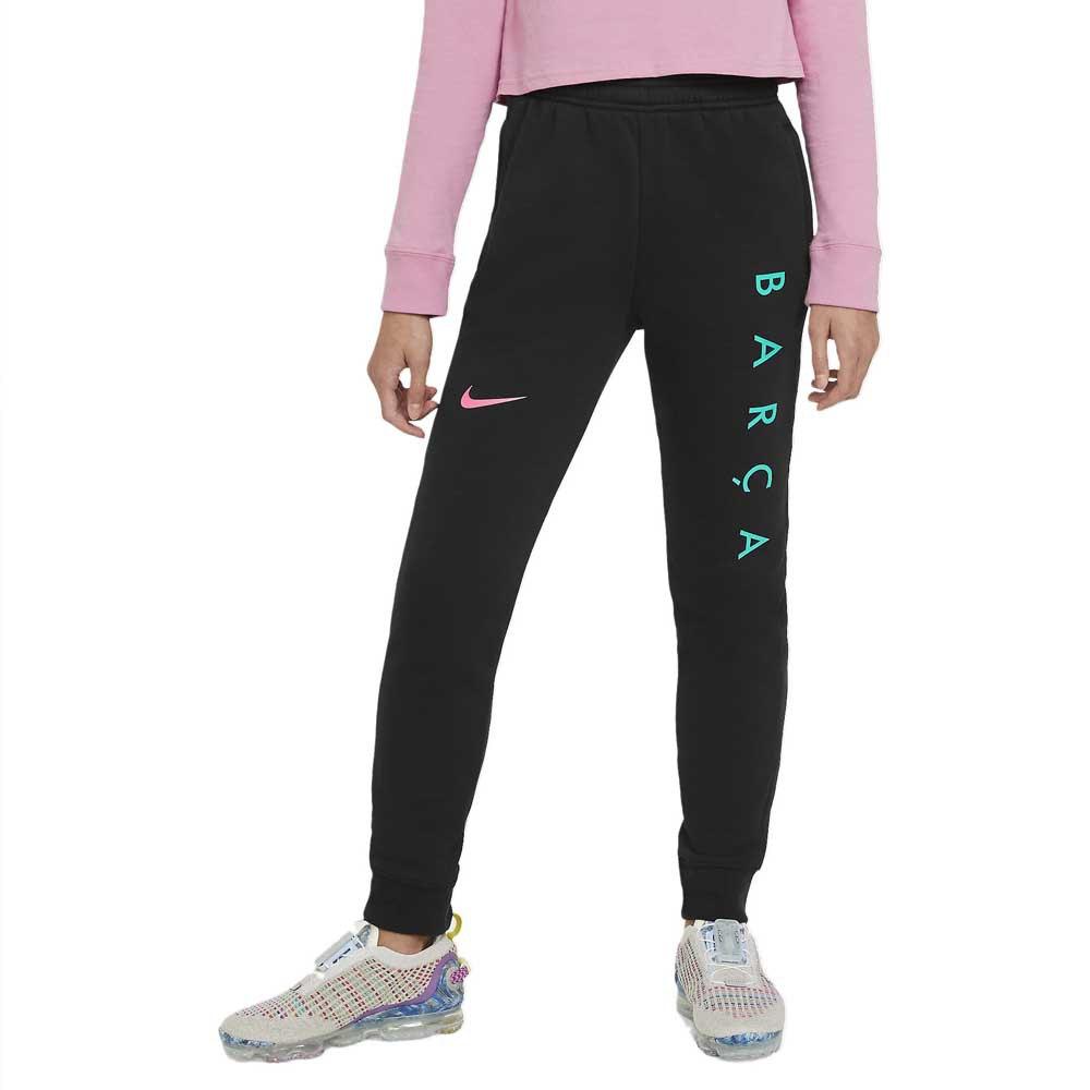 Nike Fc Barcelona 20/21 Junior S Black / Pink Beam