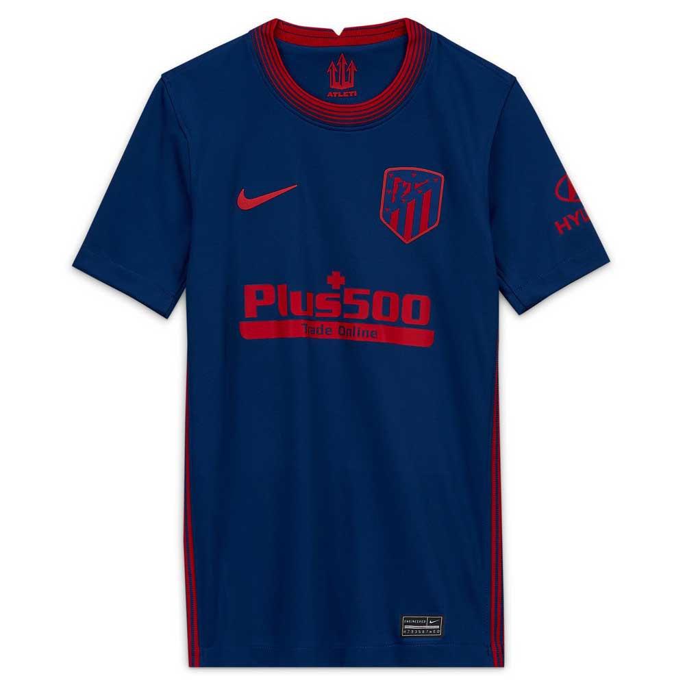 Nike T-shirt Atletico Madrid Extérieur Stadium 20/21 Junior M Coastal Blue / Sport Red