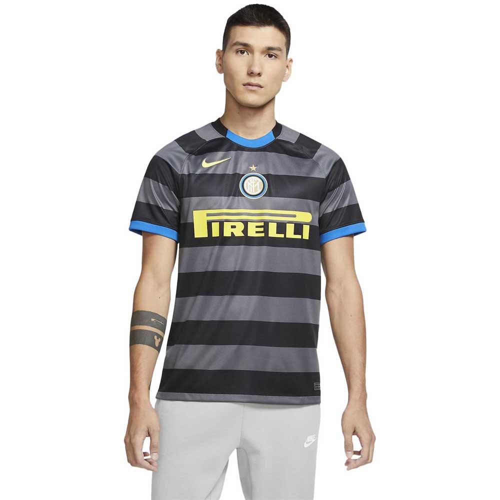 Nike Inter Milan Third Breathe Stadium 20/21 L Dark Grey / Tour Yellow