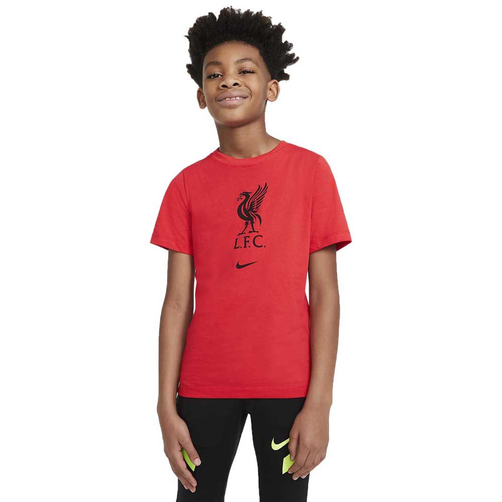 Nike Liverpool Fc 20/21 Junior S Lt Crimson / Black