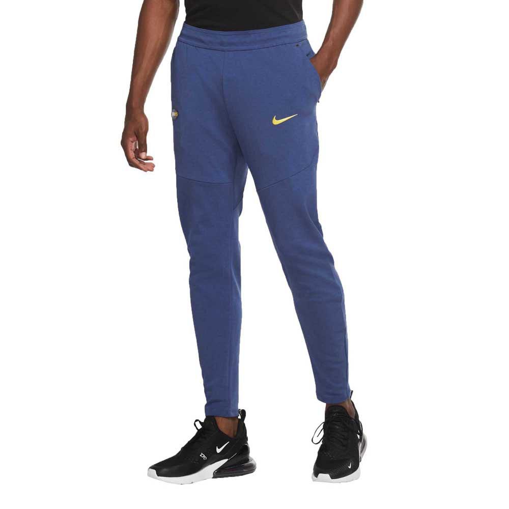 Nike Pantalons Tottenham Hotspur Fc 20/21 XL Mystic Navy / Mystic Navy / Tour Yellow