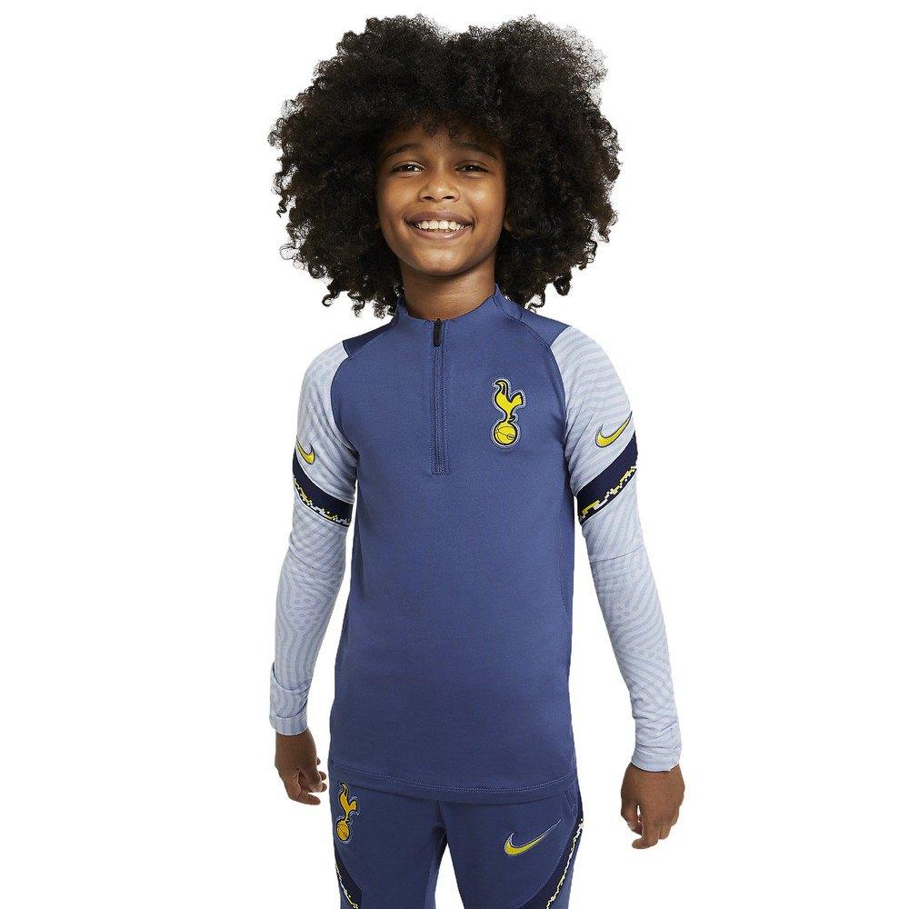 Nike T-shirt Tottenham Hotspur Fc Dri Fit Strike 20/21 Junior M Mystic Navy / Binary Blue / Tour Yellow