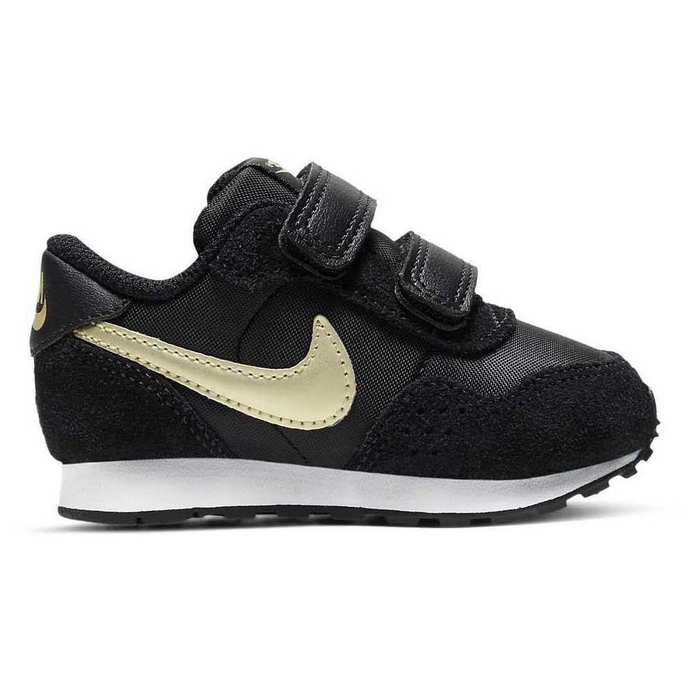 Nike Md Valiant EU 26 Black / Mtlc Gold Star / White