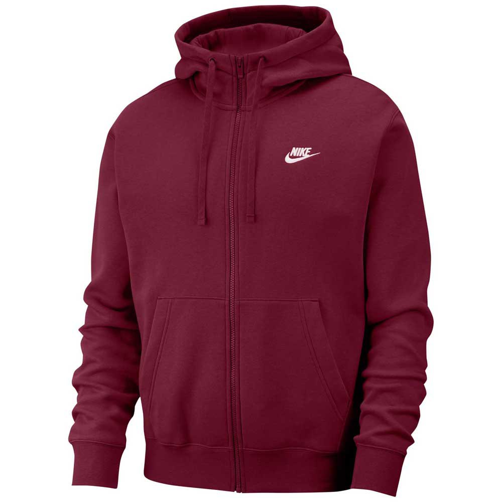 Nike Sportswear Club Fleece XL Dark Beetroot / Dark Beetroot / White