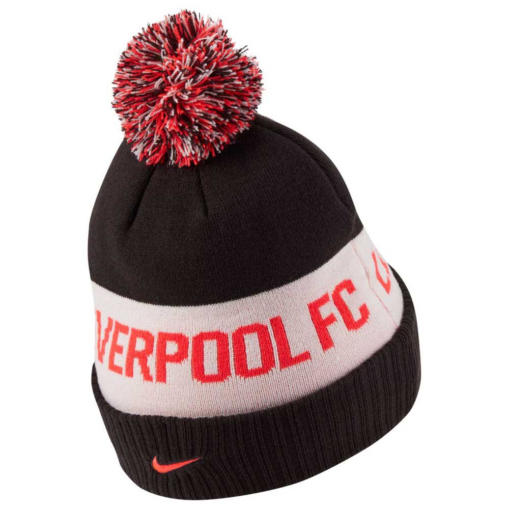 Nike Bonnet Liverpool Fc One Size Black / Laser Crimson