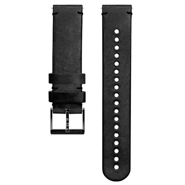 Suunto Bracelet Cuir 20 Mm Urban 2 M Black / Black