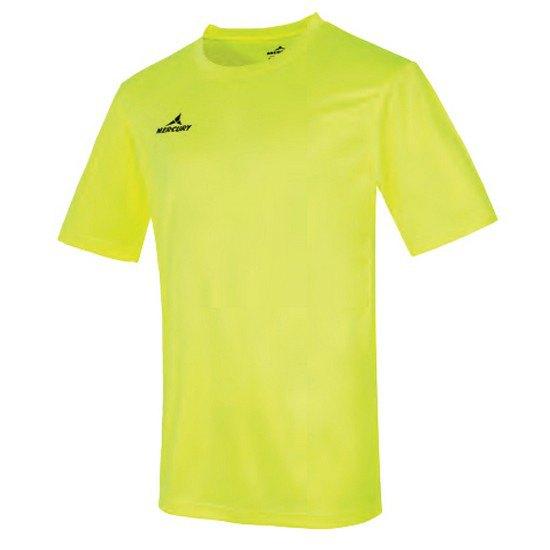 Mercury Equipment T-shirt Manche Courte Cup L Yellow Fluor