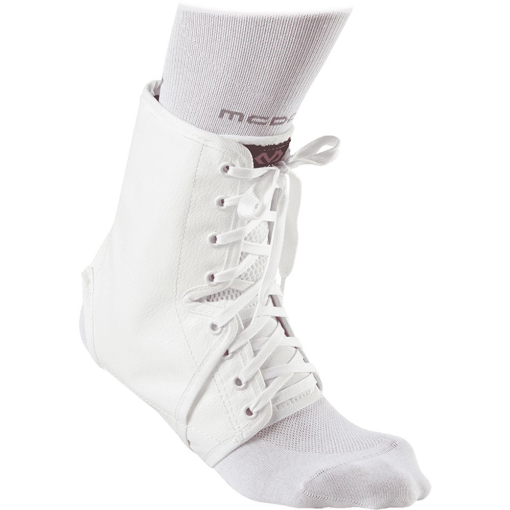 Mc David Ankle Guard XXS White