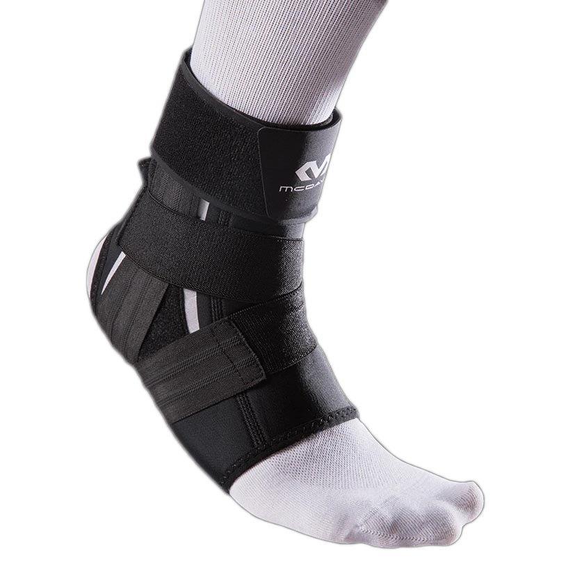 Mc David Ankle Support With Precision Straps Right S Black