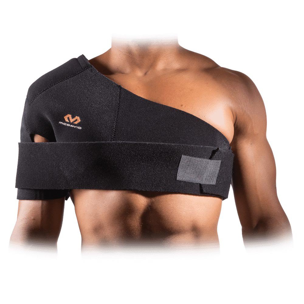 Mc David Universal Shoulder Supporter L Black