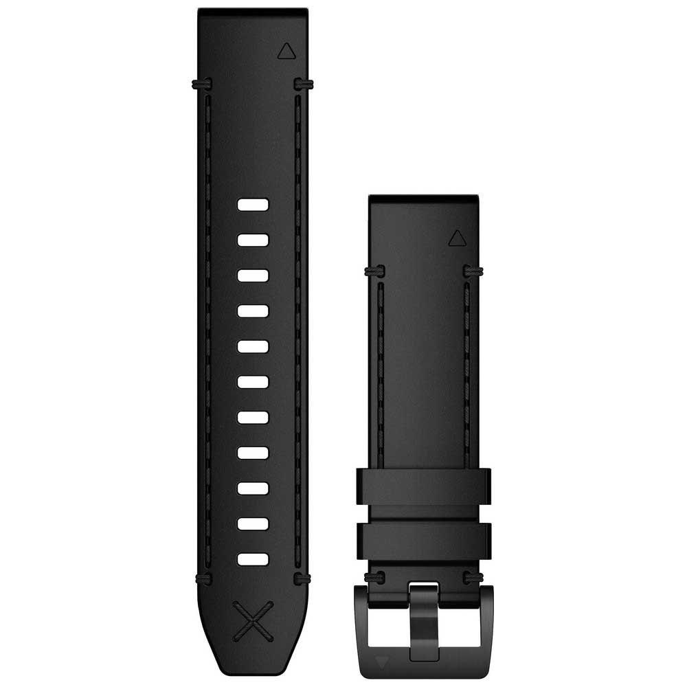Garmin Bracelet Cuir Quickfit 22 One Size Black