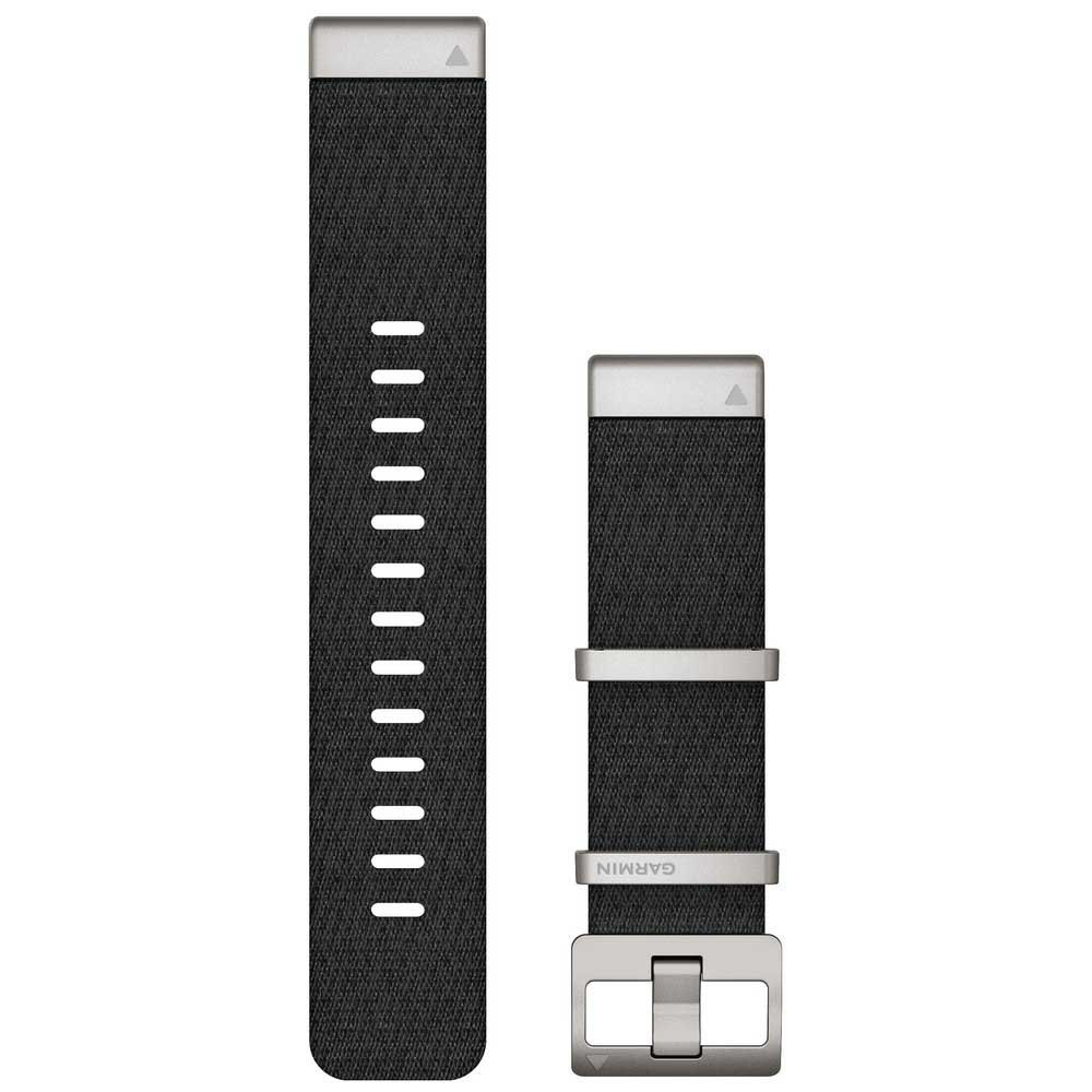 Garmin Quickfit 22 Nylon Strap One Size Black
