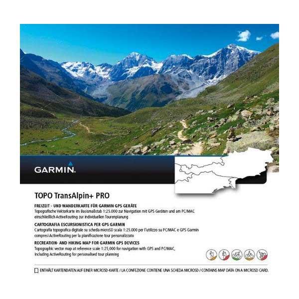 Garmin Tarjeta Microsd/sd: Topo Transalpine+ Pro One Size Black