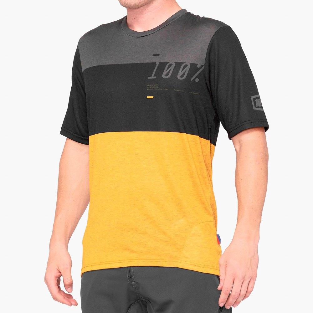 100percent Airmatic L Black / Mustard