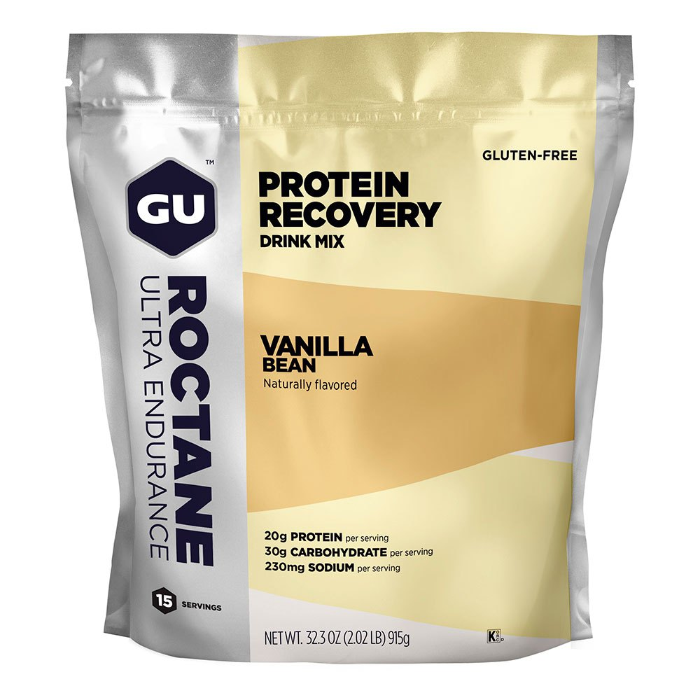 Gu Roctane Protein Recovery 61gr X 15 Units Vanilla Multicolor