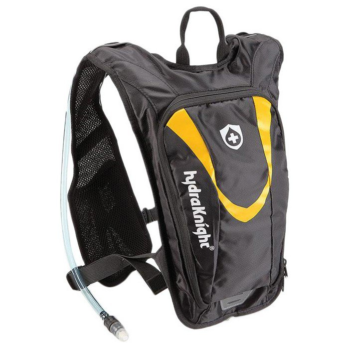 Hydraknight Sherpa Ultralight 4+1.5l Backpack One Size Black / Yellow