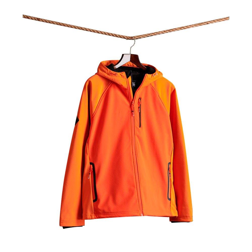 Superdry Hooded Softshell XXL Denver Orange