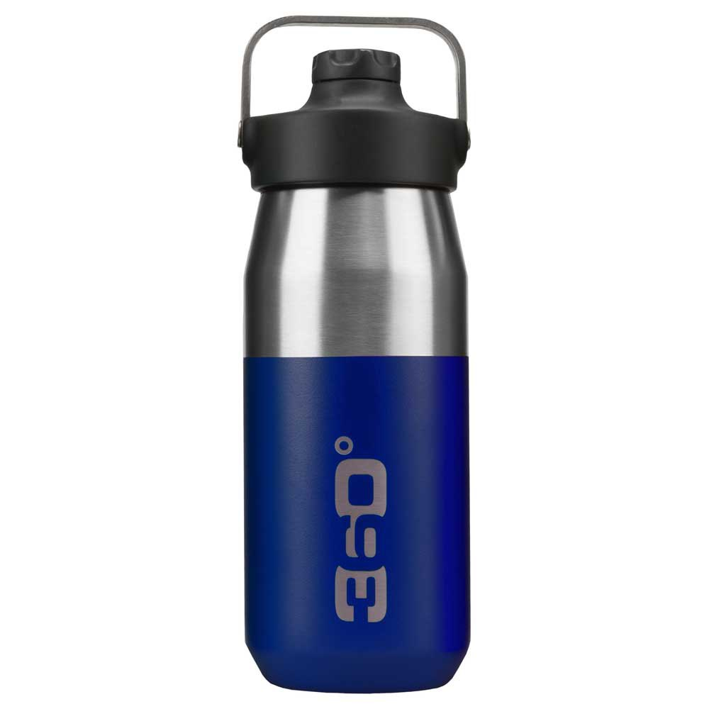 360 Degrees Wide Mouth Insulated+ Narrow Mouth With Magnetic Stopper 550ml One Size Dark Blue
