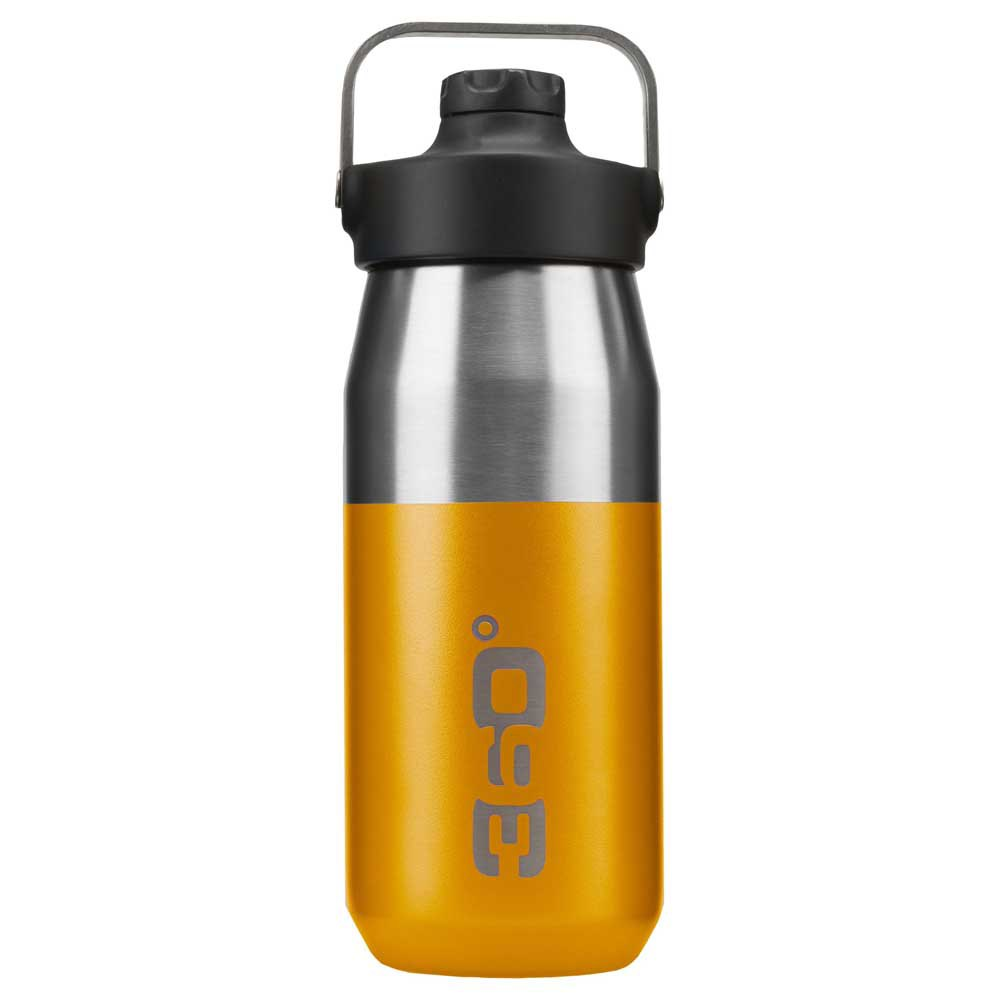 360 Degrees Wide Mouth Insulated+ Narrow Mouth With Magnetic Stopper 550ml One Size Yellow