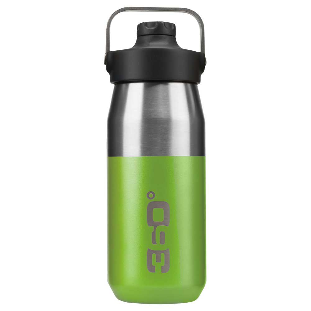 360 Degrees Wide Mouth Insulated+ Narrow Mouth With Magnetic Stopper 550ml One Size Green