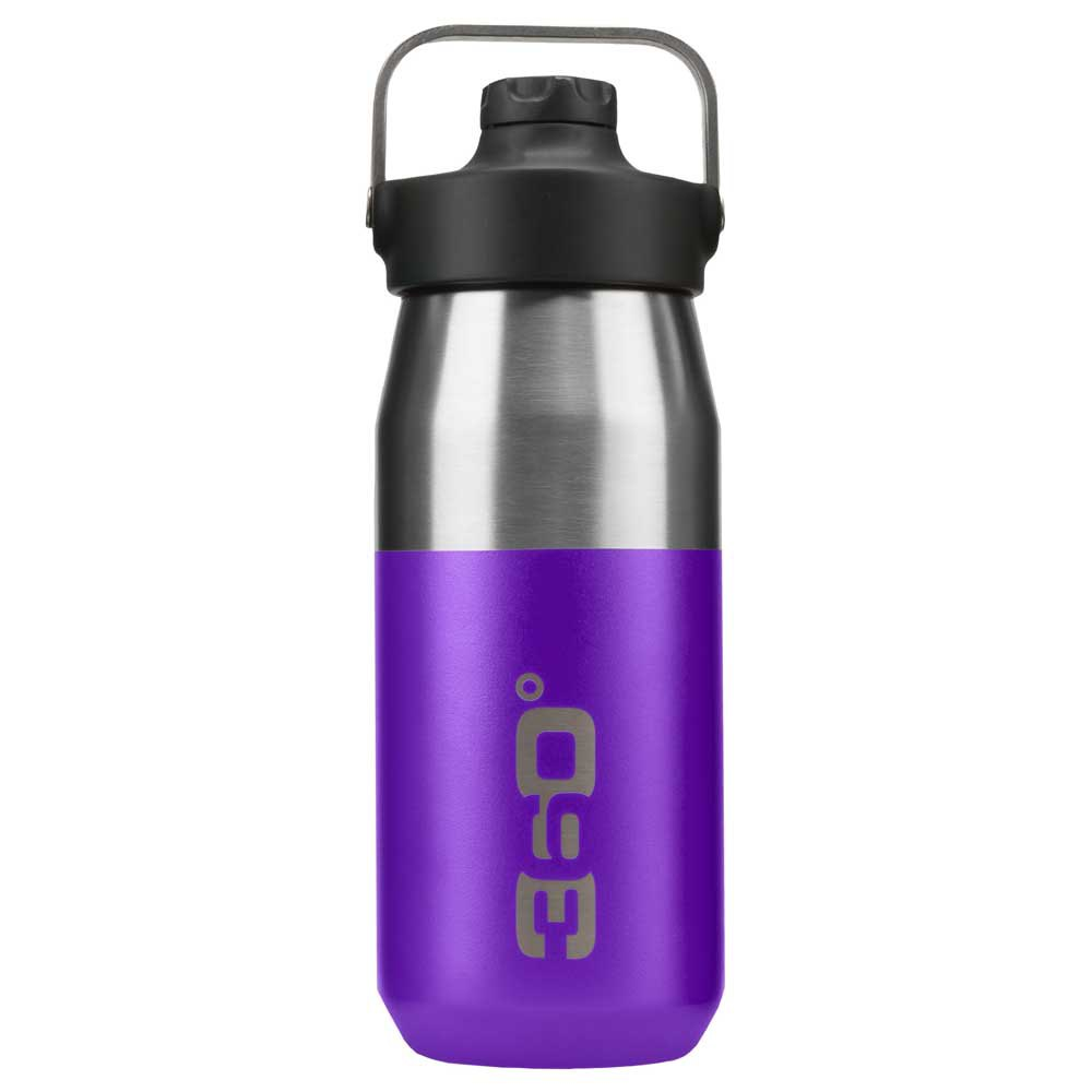 360 Degrees Wide Mouth Insulated+ Narrow Mouth With Magnetic Stopper 550ml One Size Purple
