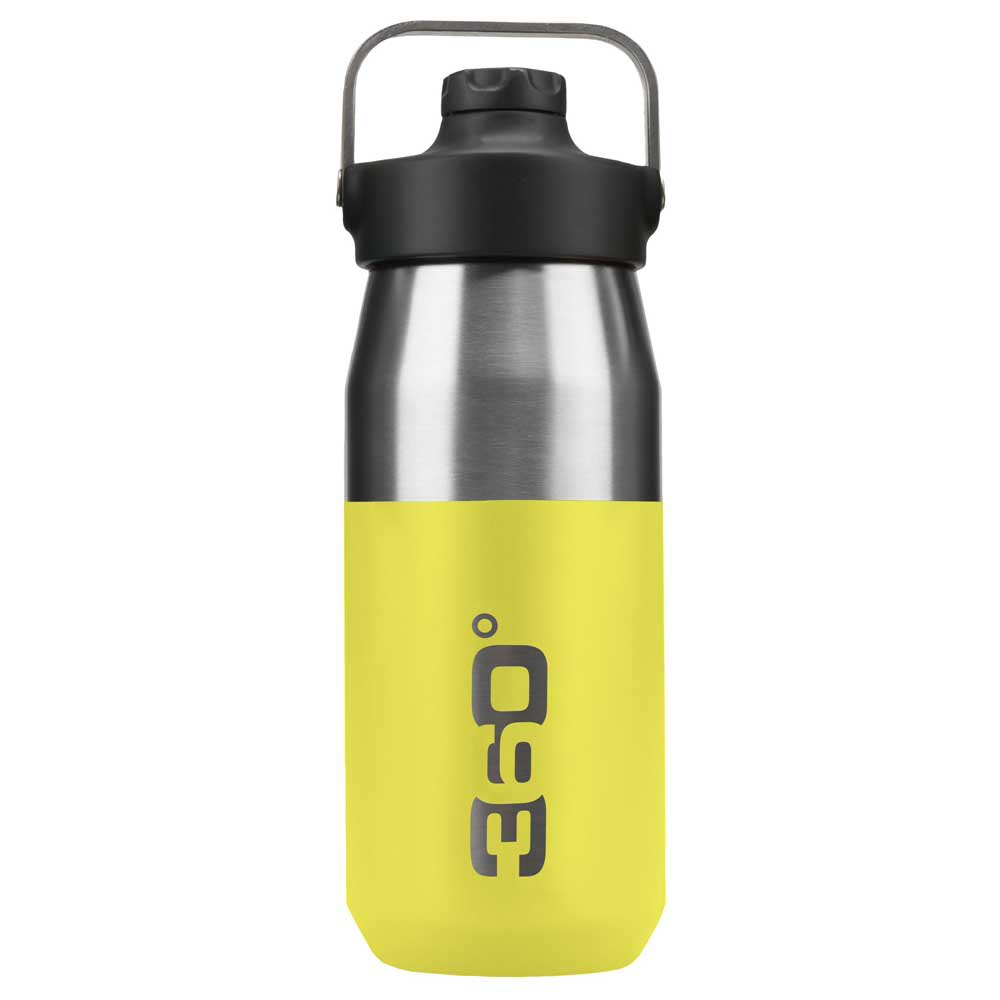 360 Degrees Wide Mouth Insulated+ Narrow Mouth With Magnetic Stopper 550ml One Size Lime