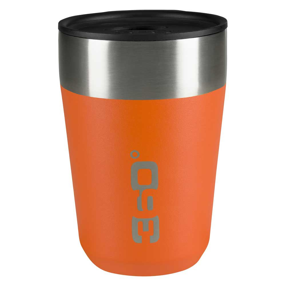 360 Degrees Insulated Stainless Travel Mug Regular One Size Orange