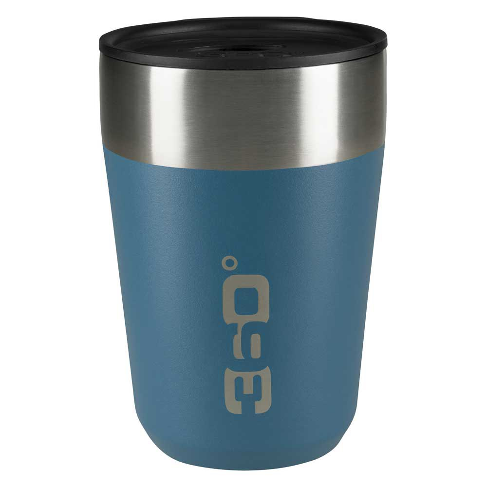 360 Degrees Insulated Stainless Travel Mug Regular One Size Blue