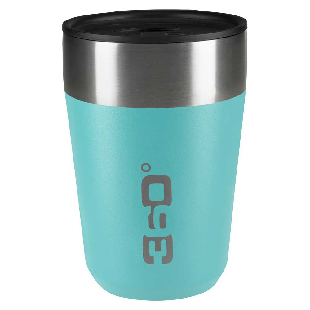 360 Degrees Insulated Stainless Travel Mug Regular One Size Turquoise