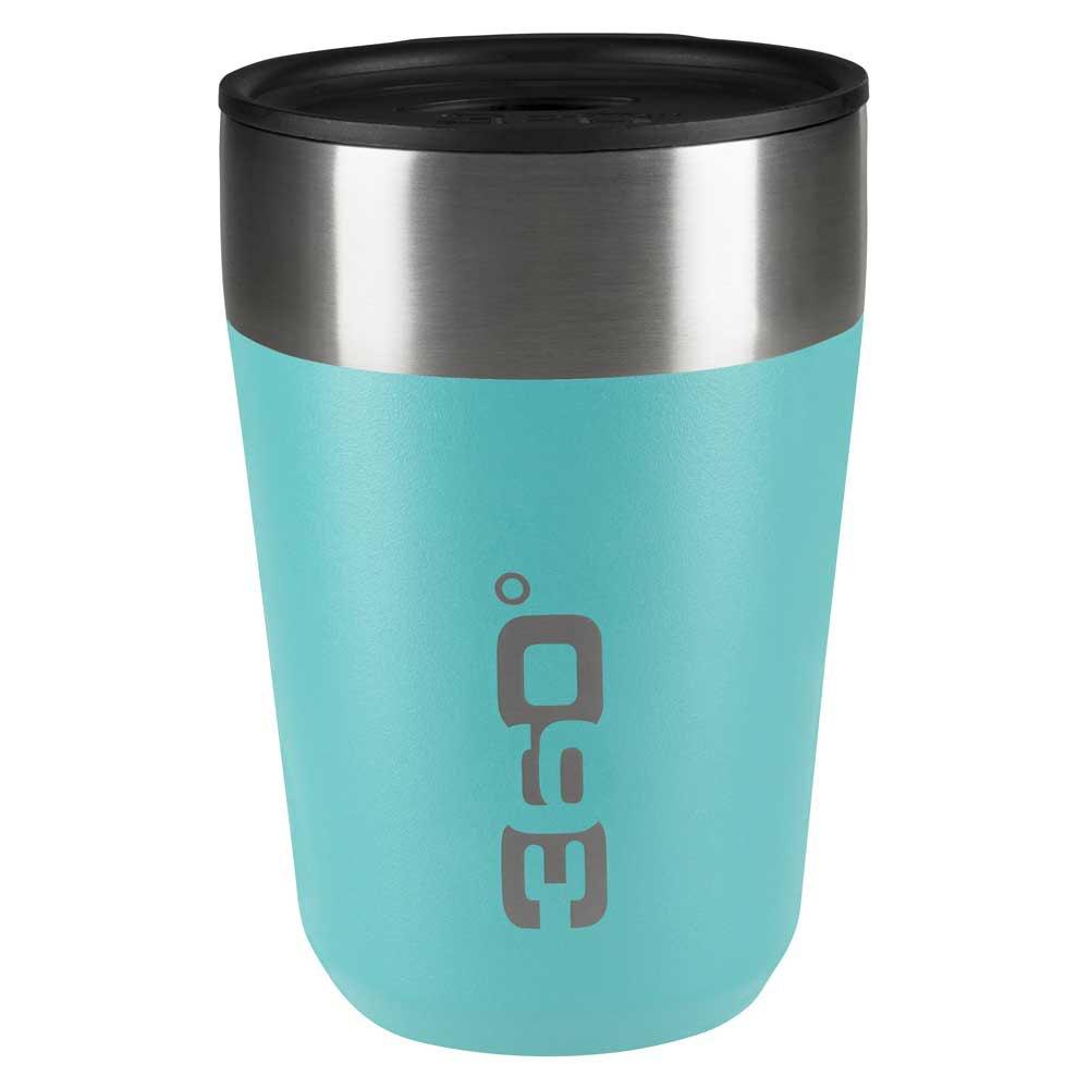 360 Degrees Insulated Stainless Travel Mug Regular One Size Turquoise