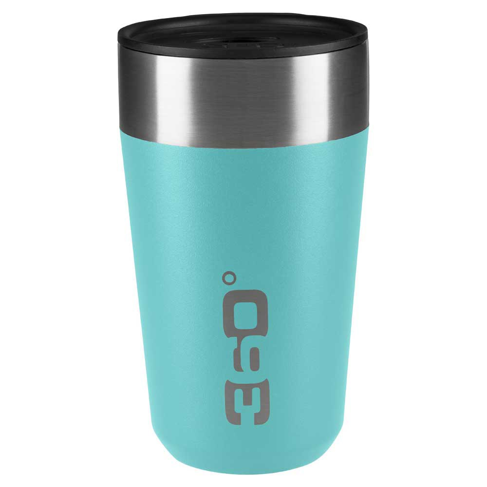 360 Degrees Insulated Stainless Travel Mug Large One Size Turquoise