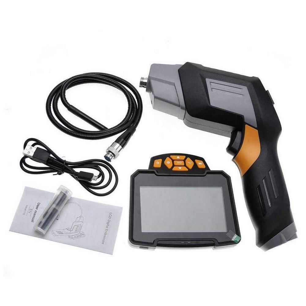 Metalsub Digital Endoscope With Camera Black Grey Orange Zubehör und Ersatzteile Digital Endoscope With Camera