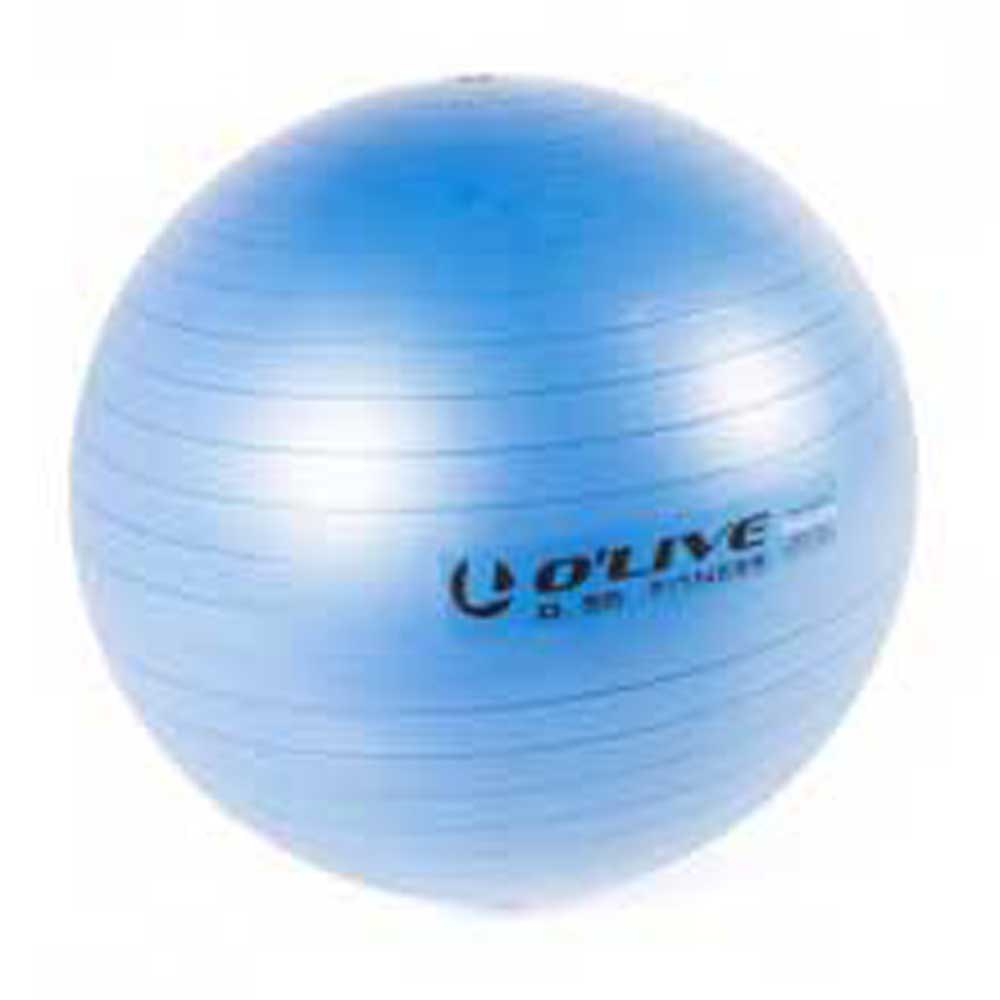 Olive Fitness Ball 55 cm Blue