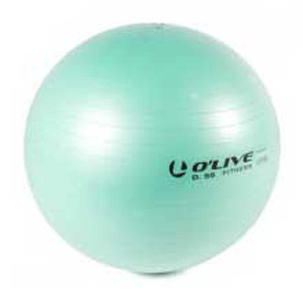 Olive Fitness Ball 55 cm Green
