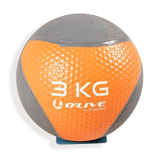 Olive Medicine Ball 3 Kg 3 Kg Orange