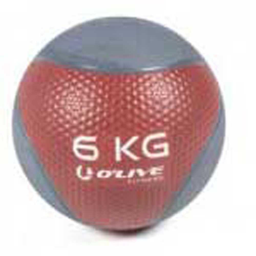 Olive Medicine Ball 6 Kg 6 Kg Maroon