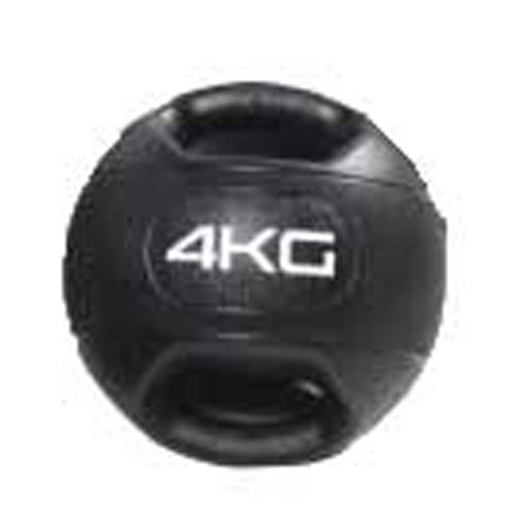 Olive Dual Grip Medicine Ball 4 Kg 4 Kg Black