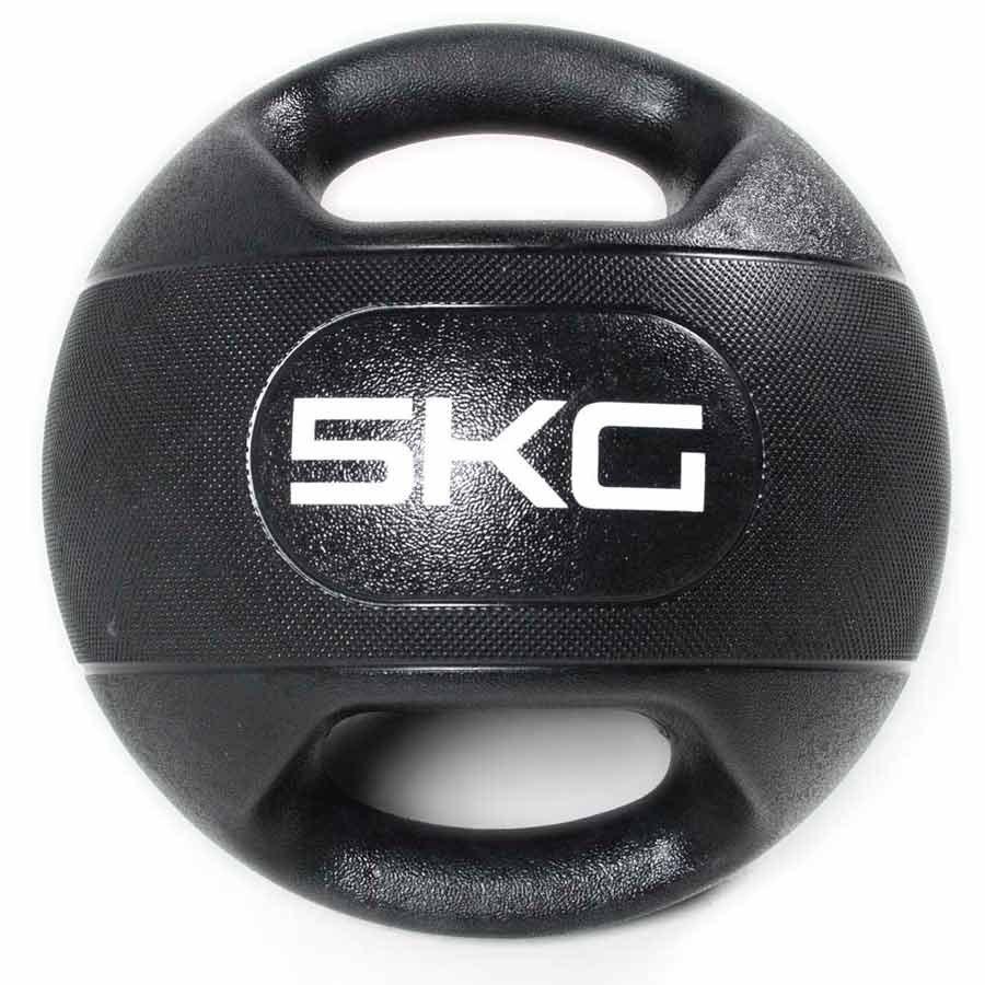 Olive Médicine Ball Dual Grip 5kg 5 kg Black
