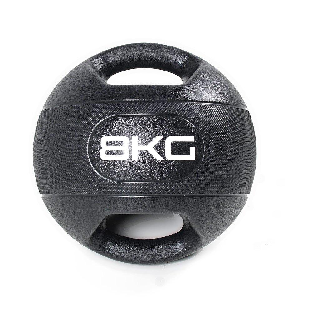 Olive Dual Grip Medicine Ball 8 Kg 8 Kg Black