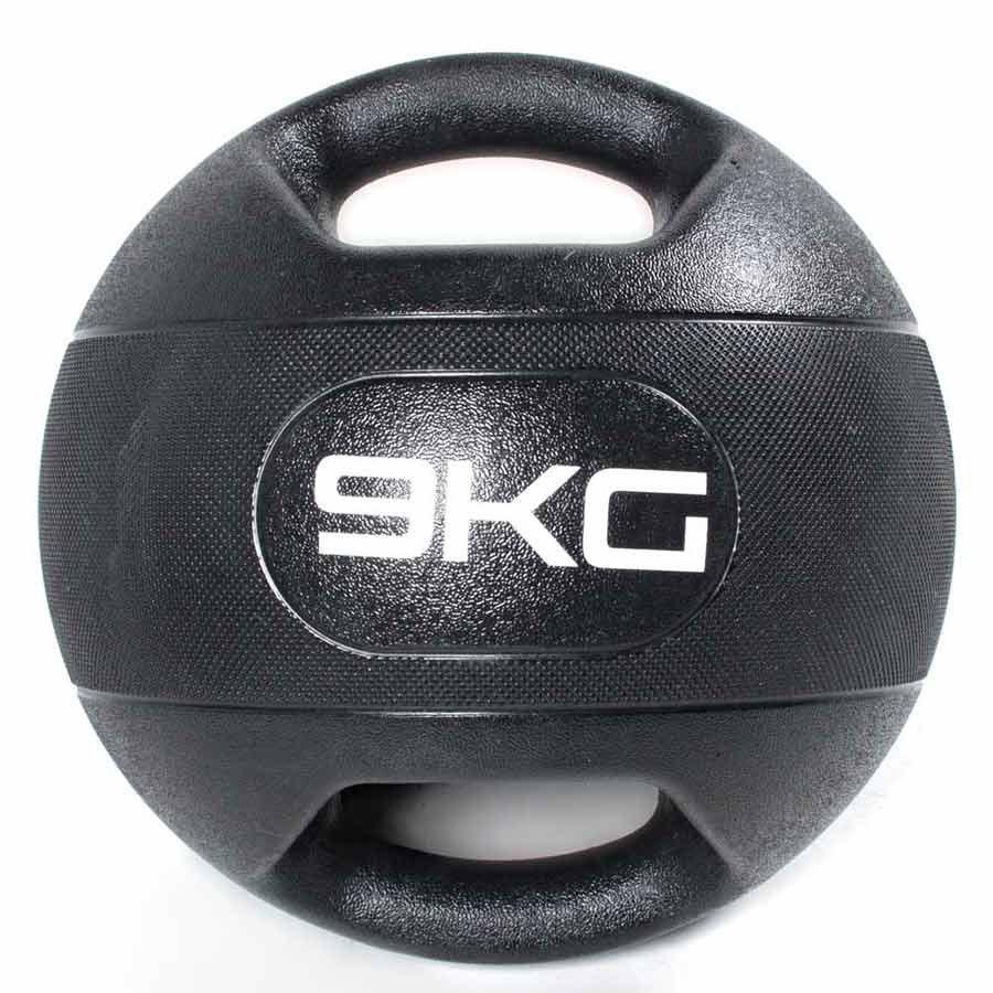 Olive Médicine Ball Dual Grip 9kg 9 kg Black
