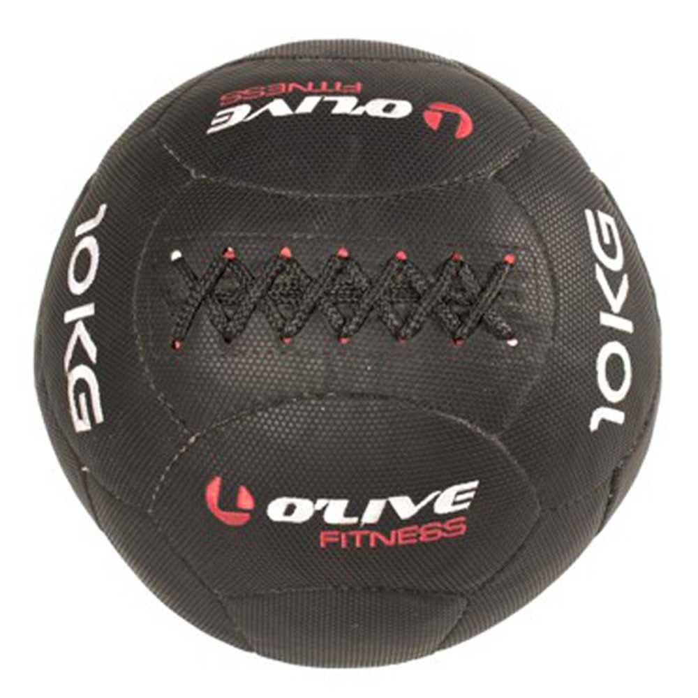 Olive Mini Functional Ball 10 Kg 25 cm Black