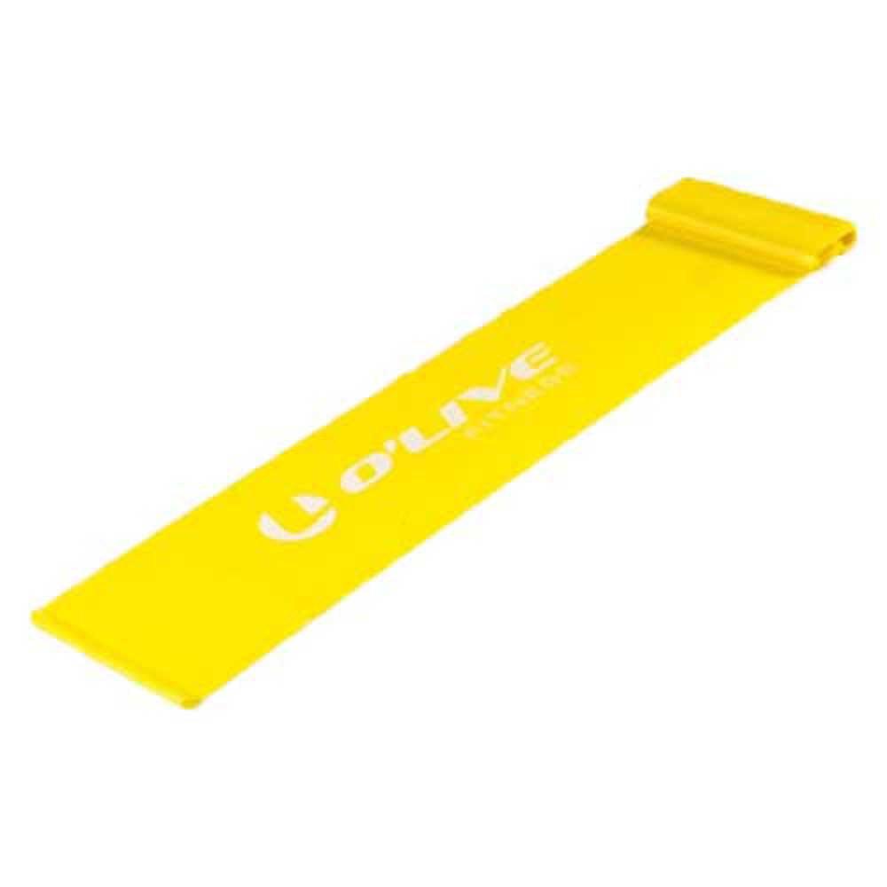 Olive Elastic Band Light Yellow